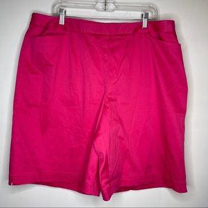 LizGolf 18W Pink Golf Shorts